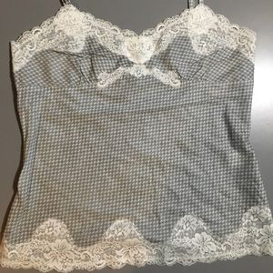 Express Fitted Camisole Lace / Print XS